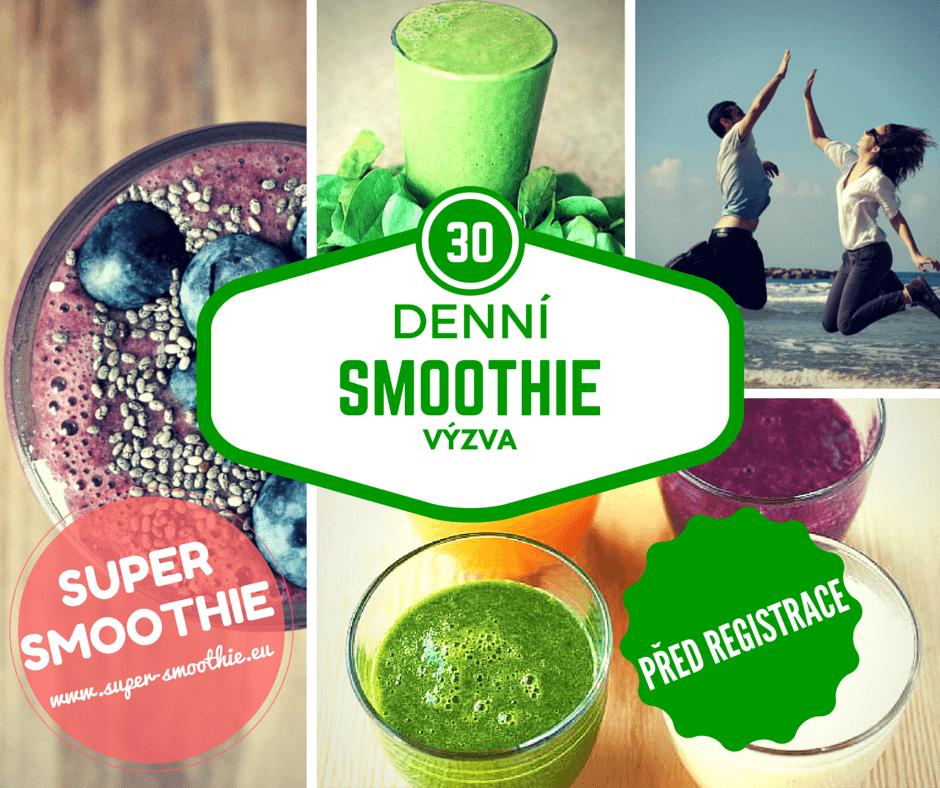 30 denní smoothie výzva před registrace